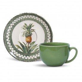xicara cha coup pineapple abacaxi green porto brasil casa cafe e mel