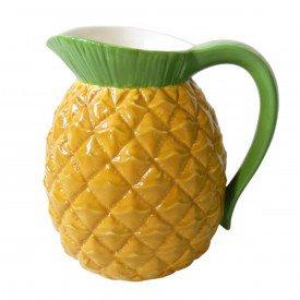 vaso jarra ceramica abacaxi 40110 urban casa cafe e mel