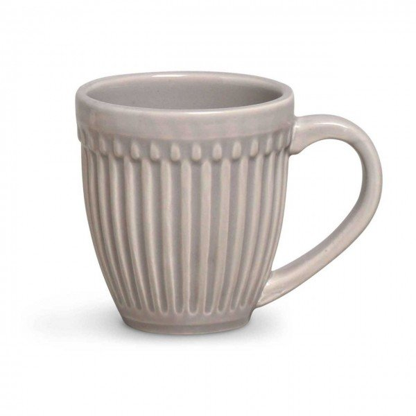 caneca roma cinza claro 446713 porto brasil casa cafe e mel