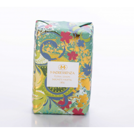 sabonete vegetal floral lemon madressenza casa cafe e mel