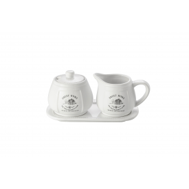 conjunto cafe de porcelana sweet home 8128 lyor casa cafe e mel
