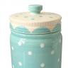 potiche ornamental porcelana pois azul 40483 b urban casa cafe e mel