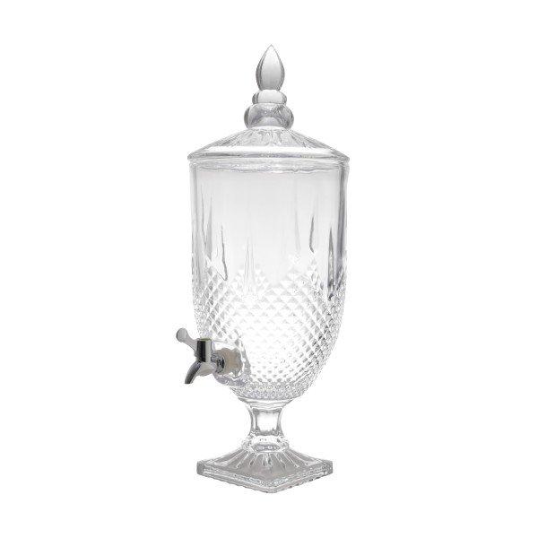 suqueira dispensador de bebidas diamante transparente 4 4l lyor 6831 a casa cafe e mel