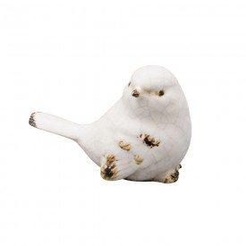 passaro branco em patina de ceramica lyor 3590 a casa cafe e mel