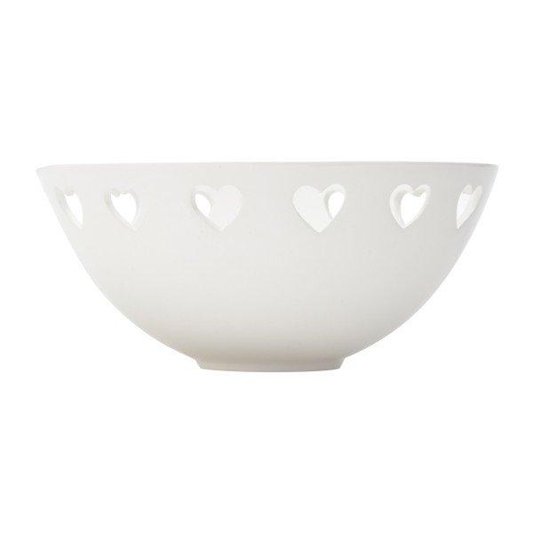 bowl dolomita coracao branco lyor 68281 b casa cafe e mel