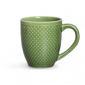 Canena Pois Verde Ref123433001   Casa Caf e Mel