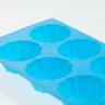 forma de silicone flores 6 bolos c lol casa cafe e mel
