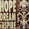 placa decorativa hope dream casa cafe e mel