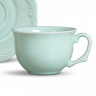 xicara de cha flor de lis verde 393536 porto brasil b casa cafe e mel
