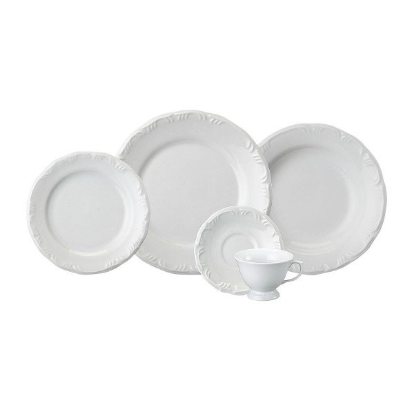 aparelho de jantar pomerode 1 porcelana schmidt casa cafe e mel