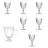 tacas jarra diamond transparente lyor casa cafe e mel