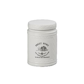 pote de porcelana sweet home com vedacao 8127 lyor casa cafe e mel