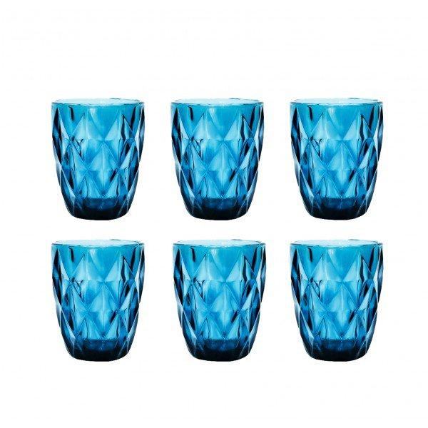 copo diamond azul casa cafe e mel