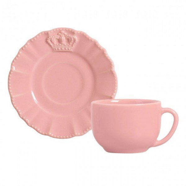 xicara cha windsor rosa porto brasil casa cafe e mel