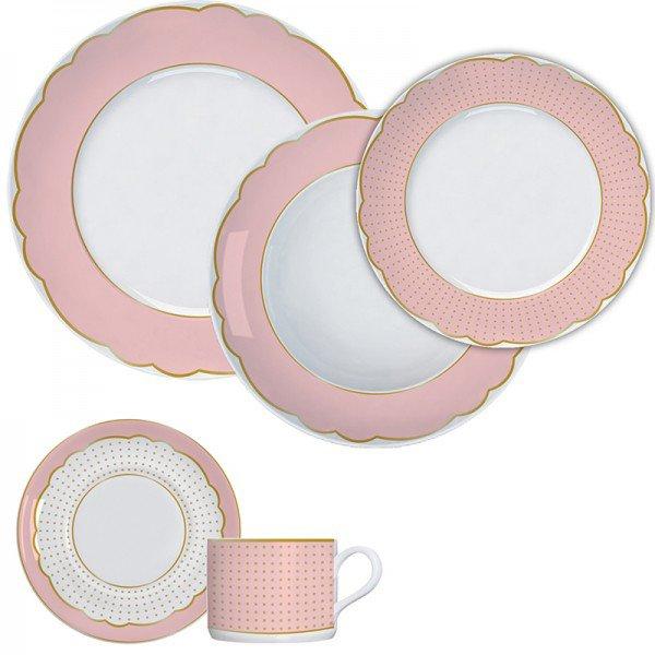 aparelho jantar royal rose germer 7240025 a1 casa cafe e mel