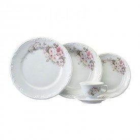 aparelho de jantar eterna porcelana schmidt bb casa cafe e mel