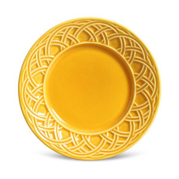 prato sobremesa cestino amarelo mostarda 14241001 porto brasil casa cafe e mel