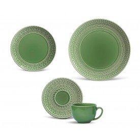 aparelho de jantar greek verde salvia porto brasil casa cafe mel
