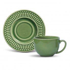 xicara cha roma verde salvia porto brasil casa cafe e mel