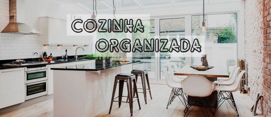 13 ideias para organizar a cozinha