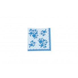 gurdanapo de papel flores ramos azuis casa cafe e mel 5