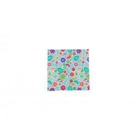 guardanapo de papel flores coloridas casa cafe e mel 10
