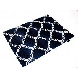 jogo americano de tecido cortbras azul com detalhe branco7520 casa cafe e mel amb 3