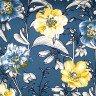 jogo americano de tecido agata cortbras azul floral 7517 casa cafe e mel