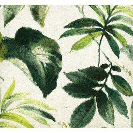 jogo americano de tecido amazon cortbras folhas 4810 casa cafe e mel