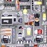 jogo americano de tecido aquamarine cortbras cerveja 523 casa cafe e mel