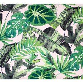 jogo americano de tecido aquamarine cortbras folhas 508 casa cafe e mel