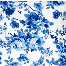 jogo americano de tecido belize cortbras floral azul 994 casa cafe e mel