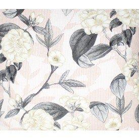 jogo americano de tecido belize cortbras floral rose 988 casa cafe e mel