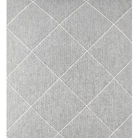 jogo americano de tecido creta cortbras cinza com linha branca 7924 casa cafe e mel