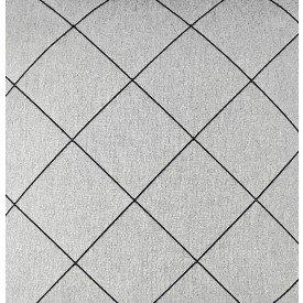 jogo americano de tecido creta cortbras cinza com linha preta 7923 casa cafe e mel