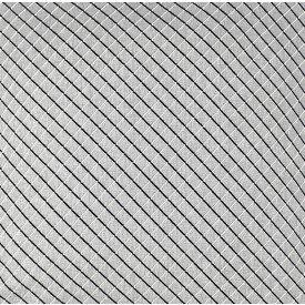 jogo americano de tecido creta cortbras cinza com listras pretas 7925 casa cafe e mel