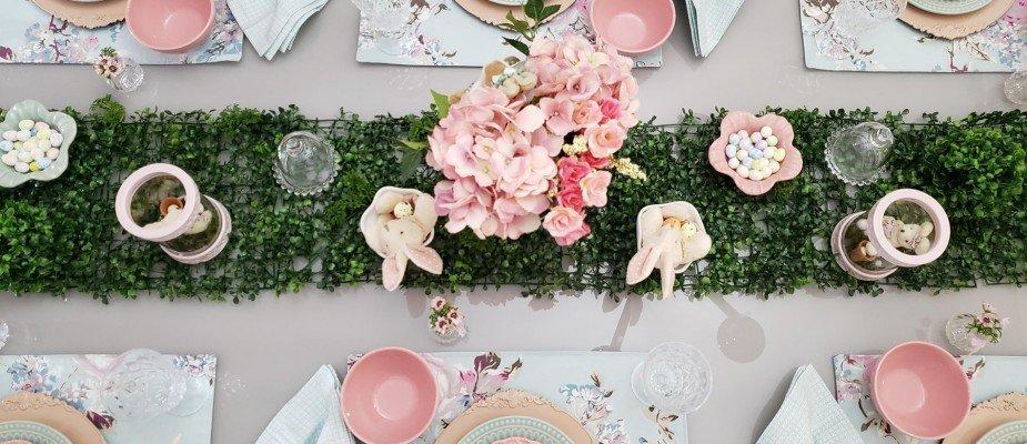Ideias para decorar sua mesa de Páscoa