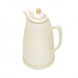 garrafa termica porcelana renda creme 35491 a rojemac casa cafe e mel 2