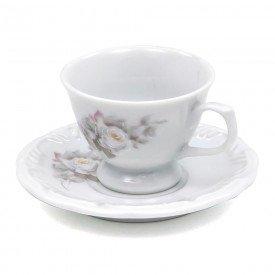 xicara de cafe eterna porcelana schmidt casa cafe e mel