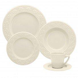 aparelho de jantar mendi marfim 7301 oxford casa cafe e mel