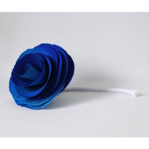 flor com cordao para difusor azul madressenza casa cafe e mel