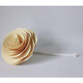 flor com cordao para difusor branca madressenza casa cafe e mel