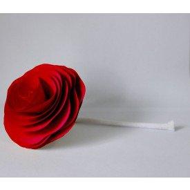 flor com cordao para difusor vermelha madressenza casa cafe e mel
