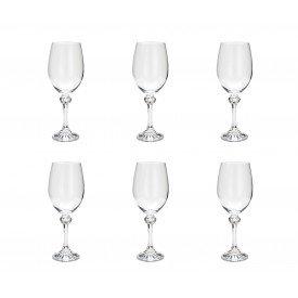 taca para vinho tinto cristal elisa 6 pecas 360ml 35087 rojemac casa cafe e mel