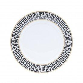 prato raso de porcelana super white egypt 6 pecas lyor 8502 lyor casa cafe e mel