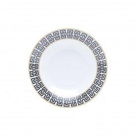 prato fundo porcelana super white egypt 6 pecas 8503 lyor casa cafe e mel