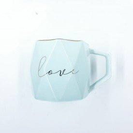 Caneca love Tiffany Casa Cafe e Mel