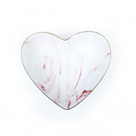 petisqueira coracao marmorizada rosa porcelana 15cm dec02112 casa cafe e mel 1