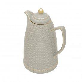 garrafa termica porcelana 900ml cinza 35493 wolff casa cafe e mel 2