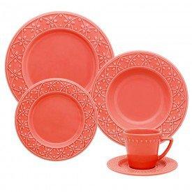 aparelho de jantar mendi cora 077827 oxford casa cafe e mel 1